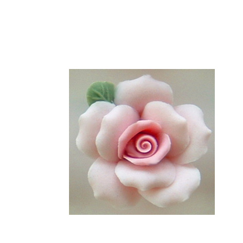 "1"" LIGHT PINK ROSE"