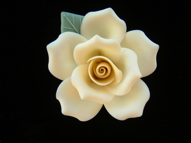 "2"" YELLOW ROSE"