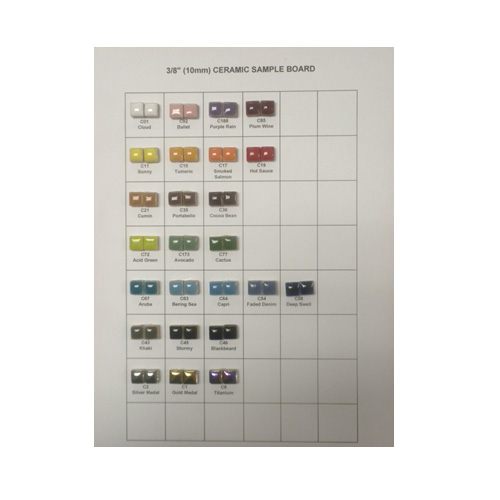 CERAMIC TILE SAMPLEBOARD