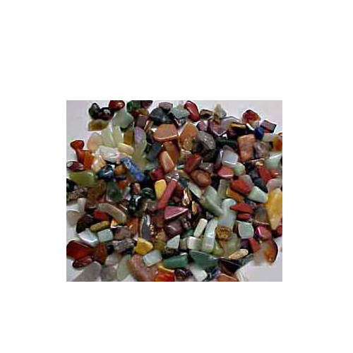 MIXED TUMBLED GEMSTONES