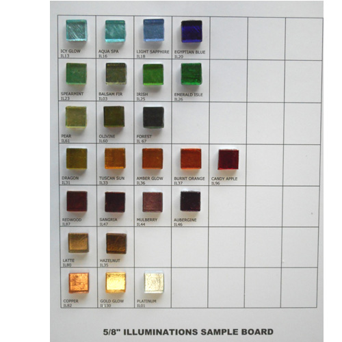 "5/8"" ILLUMINATIONS SAMPLEBOARD"
