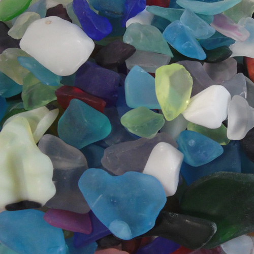 BEACH GLASS - LARGE MIX