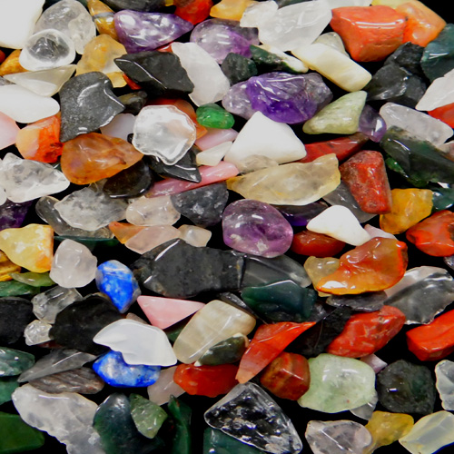 MIXED GEMSTONE CHIPS
