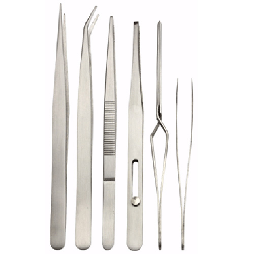 6 pc. FINE PT. TWEEZER SET