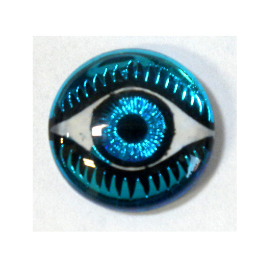 14MM MYSTERIOUS EYES AQUA/BLUE