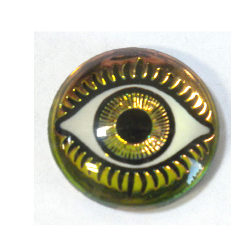 18MM MYSTERIOUS EYES FUCHSIA/LIME