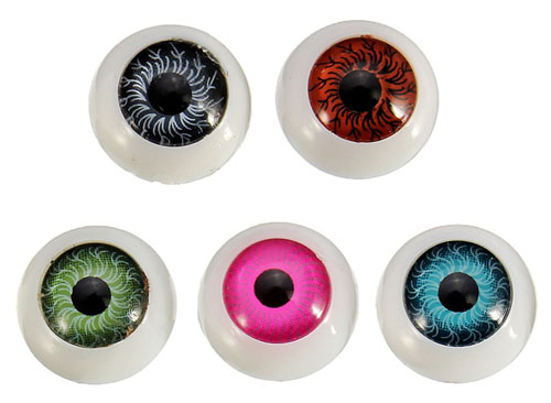 12MM RESIN EYES - SET OF 2