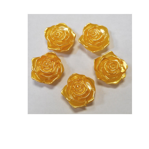GOLD ACRYLIC ROSES