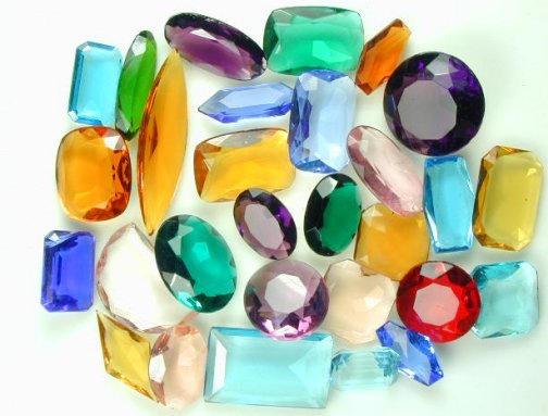 GLASS STONE ASSORTMENT
