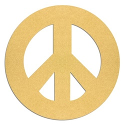 PEACE SIGN 10""