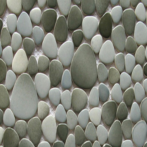 CERAMIC PEBBLES - GRAY/BLACK