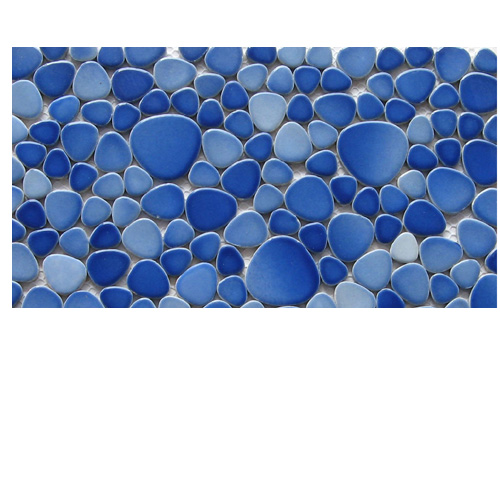CERAMIC PEBBLES - SPECKLED BLUE