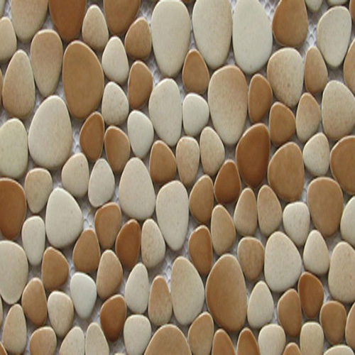 CERAMIC PEBBLES - COFFEE & CREAM