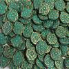 13MM X 15MM VERDIGRIS PETINA BEADS