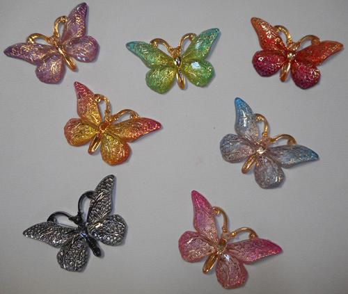 FOILED BUTTERLY SET
