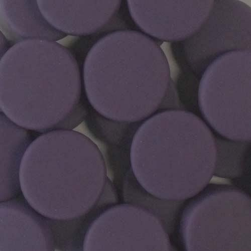 20MM ROUND ARTISAN MATTE - DEEP VIOLET  AM66