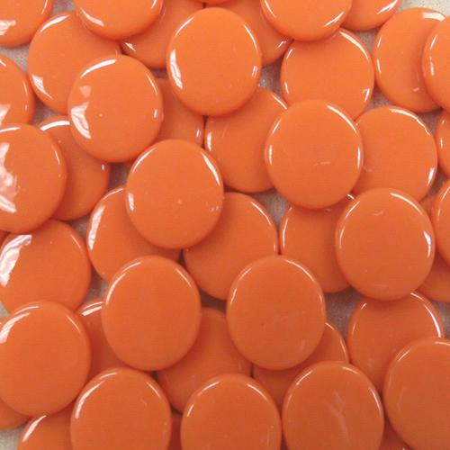 8MM ROUND APRICOT - #104 - 1/4 lb.