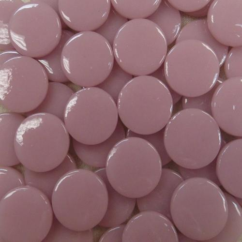 18MM ROUND DUSTY PINK - #17 - 1/4 lb.