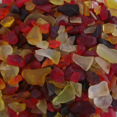 BEACH GLASS - SMALL FIRE MIX