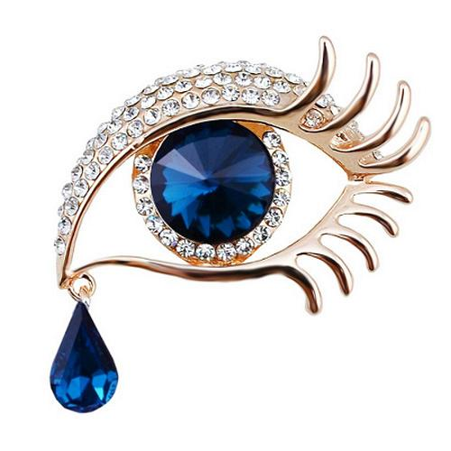 EYE BROOCH - GOLD