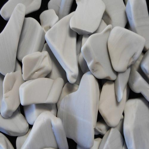 BEACH GLASS- LARGE GRAY