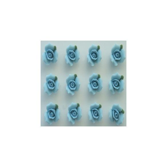 "1/2"" BLUE ROSES"