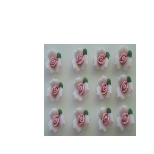 "1/2"" PINK ROSES"