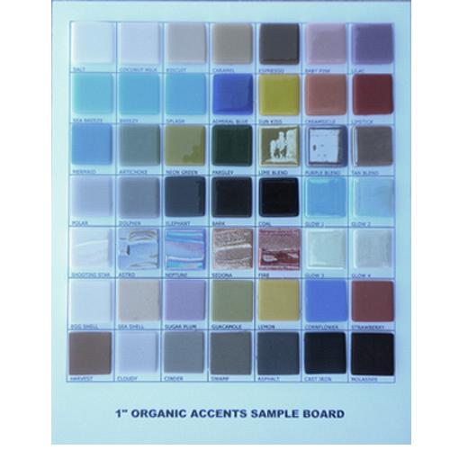 ORGANIC ACCENTS SAMPLEBOARD