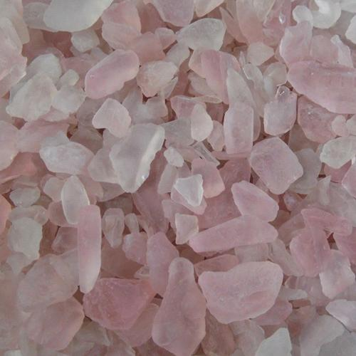BEACH GLASS - SMALL PINK