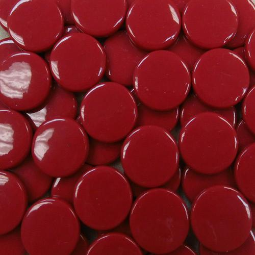 8MM ROUND RUSTY RED - #109 - 1/4 lb.