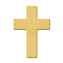 TRADITIONAL CROSS 10""
